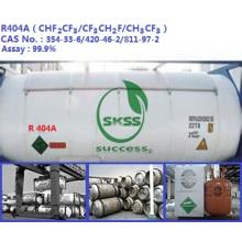 99,9% réfrigérant R404A gaz pour la climatisation