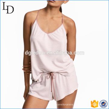 Wholesale New Arrival Summer sexy sleepwear women cotton pajamas