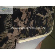 Esponja e impreso artificial en condiciones de servidumbre tela del ante para el amortiguador