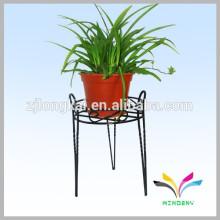 Top Quality Decorative Outdoor Metal Garden Flower Shelf Rack