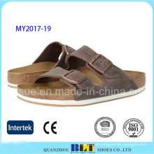 Nueva llegada Hot Bech Casual Cork Slippers
