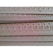 moldura decorativa de madera de la pared