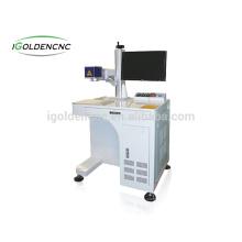Marcação / gravação de metal / 20 w de fibra de metal máquina de marcação a laser