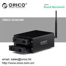 ORICO 3529U3RF 2bay Wifi 12tb NAS 3.5 '' HDD Enclosure / wireless home cloud media center