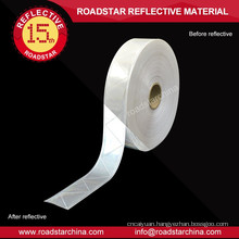 Micro-prismatic reflective pvc tape for vest