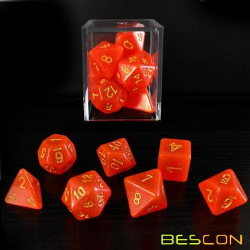 Bescon+Intensive+Glitter+DND+Dice+7pcs+Set+ROYAL+RED%2C+Novelty+Glitter+RPG+Dice+Set+d4+d6+d8+d10+d12+d20+d%25%2C+Brick+Box+Packaging