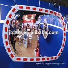 New style high reflective acrylic mirror/rectangular convex mirror
