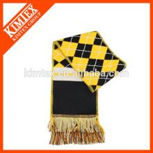 Новый 100% акриловый плетеный жаккардовый шарф