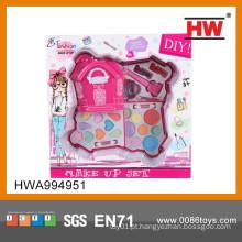 Venda colorida e quente Make Up Brinquedos Girl Cosmetic Set