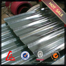 Gewelltes, verzinktes Stahlblech mit Preis / verzinktem Stahlblech / Metalldach