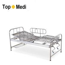Topmedi Krankenhaus Abnehmbares Gaurd Edelstahl Pflegebett