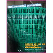 "home depot high quality 1"" green environmental vinyl coating pvc welded Wire Mesh vendor"