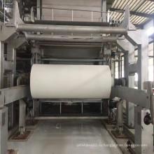 Машина для изготовления ткани для папиросной бумаги