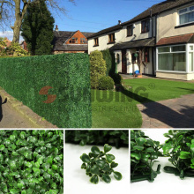 Garden decoration artificial boxwood greenery panels for home decor
