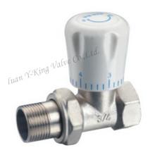 Латунный термостатический дроссельный клапан с медной экспозицией (YD-3007)