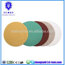 6 inch coated anti-clogging abrasive sanding discs