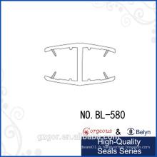 H-shaped protège la bande d'étanchéité imperméable aux deux côtés pour la fenêtre / salle de verre