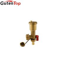 Valve de sécurité en laiton de soupape de sûreté de sécurité de bonne qualité de Gutentop pour le système de chauffage par le sol