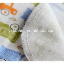 Niños de franela de algodón suave de venta mejor bebé mantas de bebés