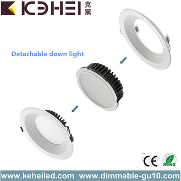 CE RoHS LED Avtagbara Downlights 30W 8 tum