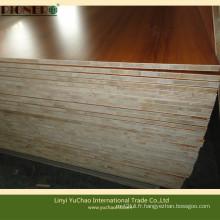 Panneau en bois mélangé en bois pour grille en bois