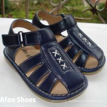 Navy Baby Boy Quietschen Sandalen