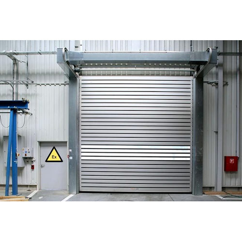 Industrial Overhead Sectional Hard Fast Steel Doors