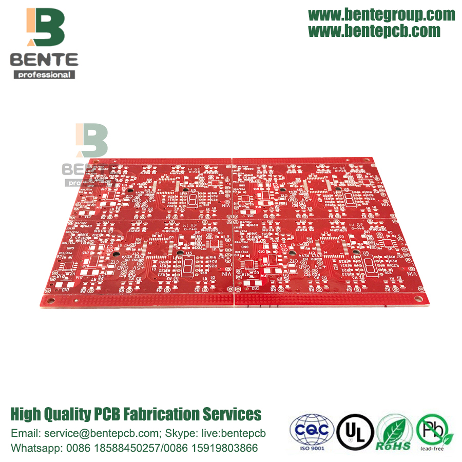 Étain d'immersion de la carte PCB Quicktime PCB FR4 Tg150 de 2 couches