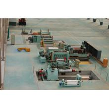 Machine de refendage de bobines d'acier, ligne de refendage