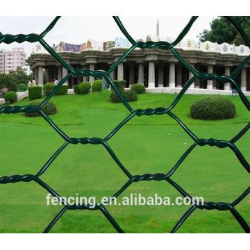 Malla de alambre hexagonal de torsión normal
