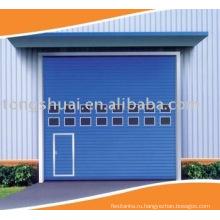 вертикальные подъемные промышленные двери