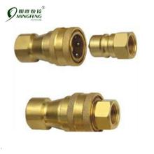 High pressure hydraulic hose repair kit