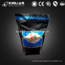 standing pouch snack packaging zip laminated bag