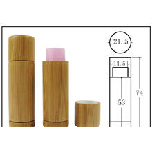 Customized Twisted Push up Kraft Paper Lip Stick Tube Packaging