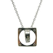 Heiße Verkaufs-Frau Art- und Weise925 silberne Schmucksache-Halskette (N6812)