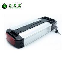 Fábrica al por mayor del OEM ebike 10.4ah li ion bicicleta eléctrica batería 36 v