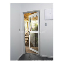 Firmness Thermal Break Frames Double Glass Aluminium Doors