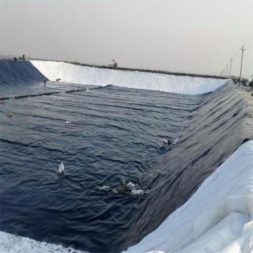 Fish Farm Pond Liner Geomembrana de HDPE con UV