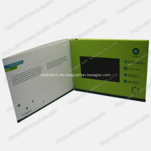 Digitaler Videokatalog, Video-Werbebroschüre, MP4-Player-Broschüre