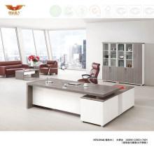 Modern Office Furniture L Shape Wooden Executive Desk (H70-0166)