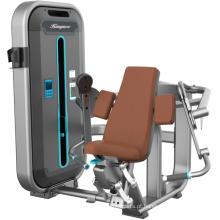 Máquina de força de onda de bíceps sentado