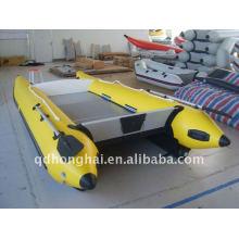 HH-P430 rígida inflável catamarã lancha