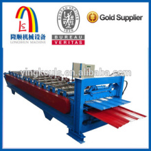 LS-900 double roll froming machine building penal