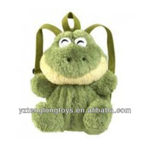 Fábrica al por mayor de animales en forma de mochila mochila mochila rana