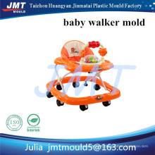 El último diseño respetuoso del medio ambiente PP Baby Walker con la rueda de PU Mute / Música