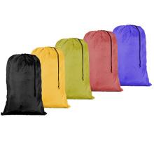 wholesale drawstring polyester/nylon laundry bag