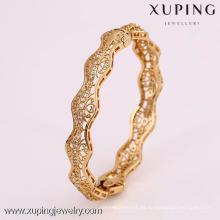 50749 brazaletes de las materias primas de la decoupage de la artesanía de Xuping cnc Lowell del arte del cnc
