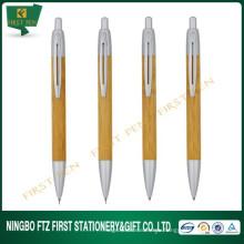Логотип Печатная дешевая эко-бамбуковая ручка