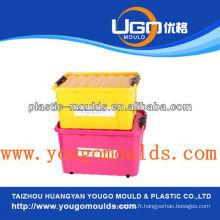 Moule du récipient de stockage en plastique du zhejiang