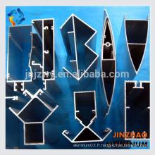 Fournisseurs en porcelaine de profil en aluminium pour les conceptions de portes